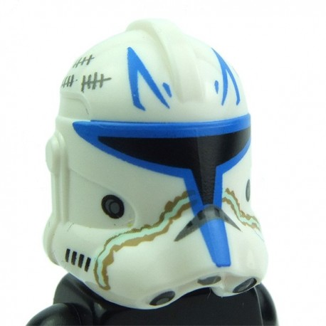 lego accessories white helmet sw capitan rex with blue