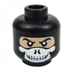 Lego Minifig Custom EclipseGrafx Specter (Black) (La Petite Brique)