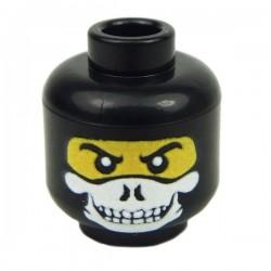 Lego Minifig Custom EclipseGrafx Specter (Jaune - Noir) (La Petite Brique)