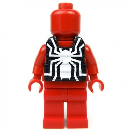 Lego Minifig Custom EclipseGrafx Gilet Venomous (Petite Brique)