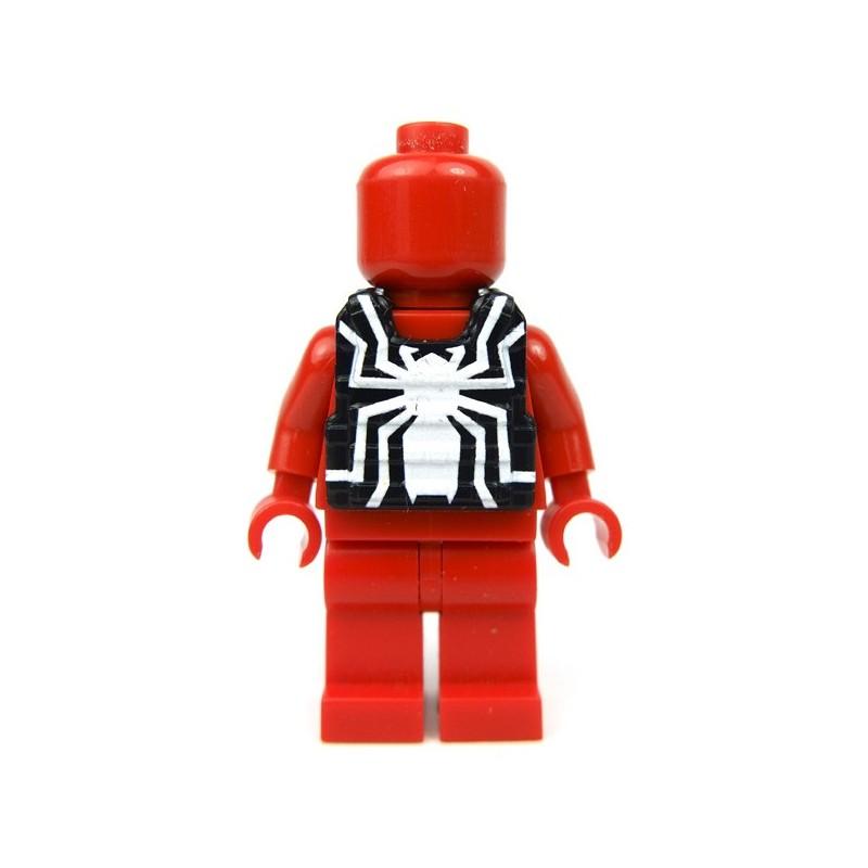 Lego eclipsegrafx custom minifig venomous on plate for Graf custom homes
