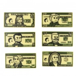 Custom Money Tiles (Tan)