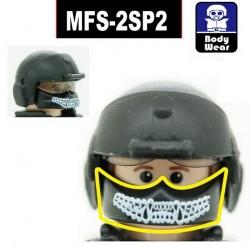 Lego Accessoires Minifig Custom SIDAN TOYS Maxillofacial MFS-2SP2 pour HGU (La Petite Brique)