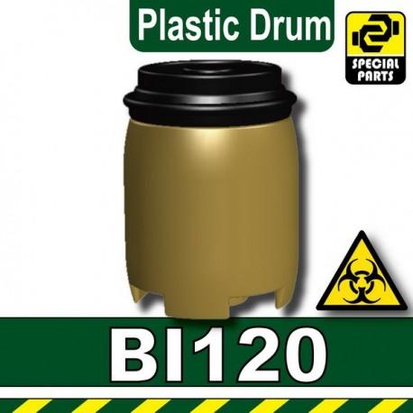 Plastic Drum (Dark Tan)