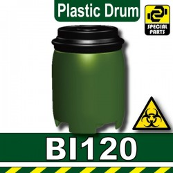 Plastic Drum (Military Green)