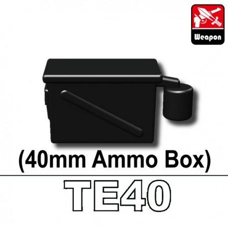 Lego Accessoires Minifig Custom SIDAN TOYS Boite de Munitions 40mm (TE40) (La Petite Brique)