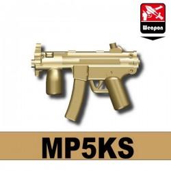 Lego Accessoires Minifig Custom SIDAN TOYS MP5KS (Dark Tan) (La Petite Brique)