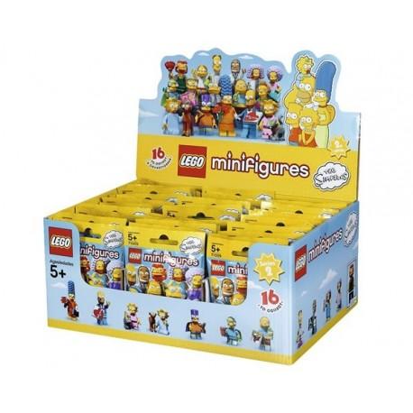 Lego 71009 - Boite complète de 60 sachets - Série 2 Les Simpson (La Petite Brique)