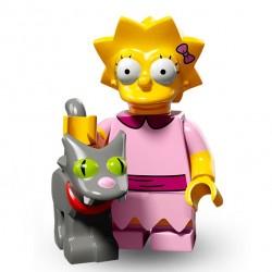 Lego Minifig Serie 2 Les Simpson 71009 - Lisa Simpson (La Petite Brique)