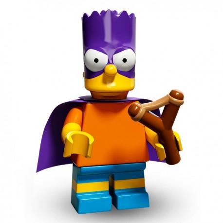 Lego Minifig Serie 2 Les Simpson 71009 - Bart Simpson (BartMan) (La Petite Brique)