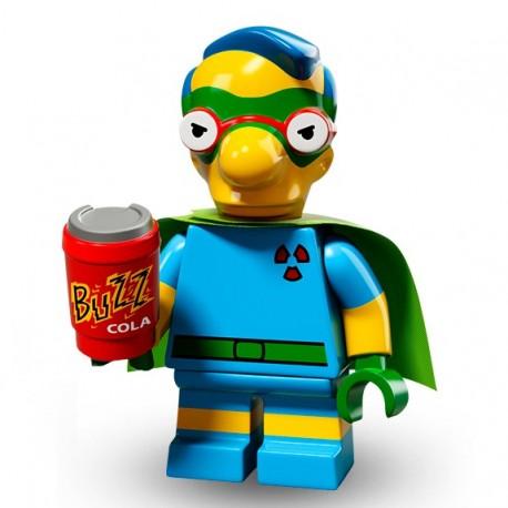 Lego Minifig Serie 2 Les Simpson 71009 - Milhouse (Fall Out Boy) (La Petite Brique)