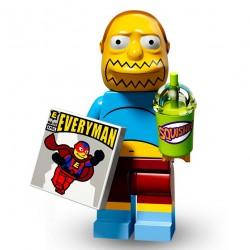 Lego Minifig Serie 2 Les Simpson 71009 - Vendeur de B.D. (La Petite Brique)