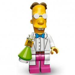Lego Minifig Serie 2 Les Simpson 71009 - Professeur Frink (La Petite Brique)