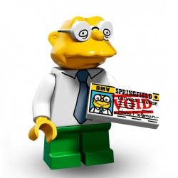 Lego Minifig Serie 2 Les Simpson 71009 - Hans Moleman (La Petite Brique)