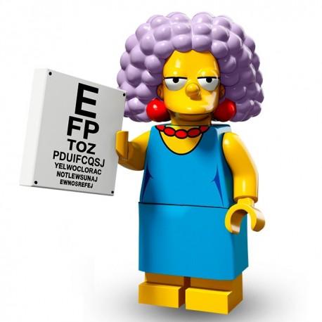 Lego Minifig Serie 2 Les Simpson 71009 - Selma Bouvier (La Petite Brique)