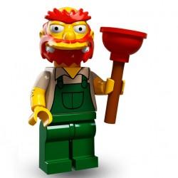 Lego Minifig Serie 2 Les Simpson 71009 - Willie le jardinier (La Petite Brique)