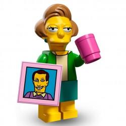 Lego Minifig Serie 2 Les Simpson 71009 - Edna Krabappel (La Petite Brique)
