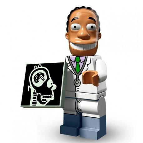 Lego Minifig Serie 2 Les Simpson 71009 - Dr Hibbert (La Petite Brique)