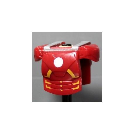 Lego Accessoires Minifig Custom CLONE ARMY CUSTOMS Armure MK Dark Red (La Petite Brique)