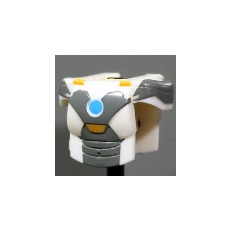 Lego Accessoires Minifig Custom CLONE ARMY CUSTOMS Armure MK White (La Petite Brique)
