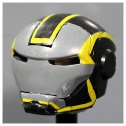 MK Grid Yellow Helmet