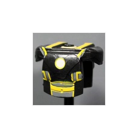 Lego Accessoires Minifig Custom CLONE ARMY CUSTOMS Armure MK Grid Yellow (La Petite Brique)