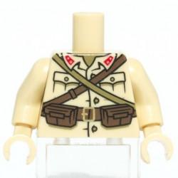 Lego Accessoires Custom CITIZEN BRICK Torse minifig - Japanese Infantry (La Petite Brique)