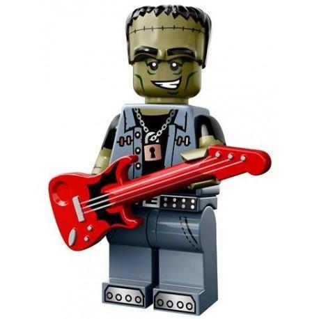 Lego Minifig Serie 14 71010 - le Rocker Monstre (La Petite Brique)