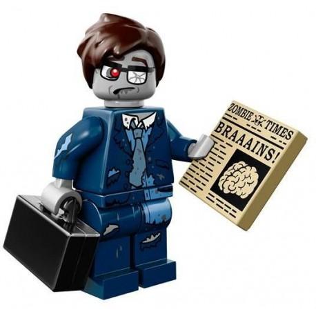 Lego Minifig Serie 14 71010 - l'Homme d'affaires Zombie (La Petite Brique)