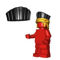 Lego Accessoires Minifig Custom BRICKWARRIORS Plume casque Sea People (Noir) (La Petite Brique)