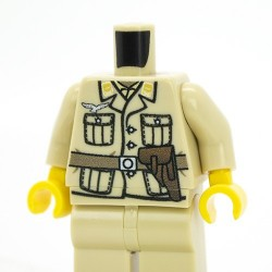 German DAK Pilot Torso + Legs (Tan)