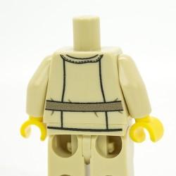 Lego Accessoires Minifig Custom Minifigs'R Us Torse + Jambes - German DAK Pilot (Tan) (La Petite Brique)