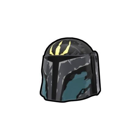 Lego Accessoires Minifig Custom AREALIGHT Black Pre Hunter Helmet (La Petite Brique)