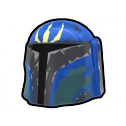 Lego Accessoires Minifig Custom AREALIGHT Blue Pre Hunter Helmet (La Petite Brique)