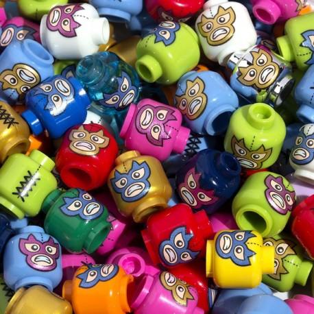 Lego Accessoires Custom CITIZEN BRICK Tête Luchador Mask (La Petite Brique)