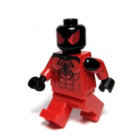 Lego Minifig Custom PHOENIX CUSTOMS Crimson Arachnid (La Petite Brique)