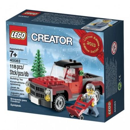 Lego Creator 40083 - Le camion de transport de sapins de Noël (La Petite Brique)