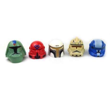 5 exclusives Helmets (rare pattern) 03