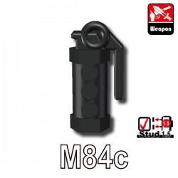 Lego Accessoires Minifig Custom SIDAN TOYS Stun Grenade (M84c) (noir) (La Petite Brique)