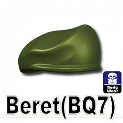 Lego Accessoires Minifig Custom SIDAN TOYS Beret (vert militaire) (La Petite Brique)