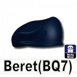 Lego Accessoires Minifig Custom SIDAN TOYS Beret (Bleu foncé) (La Petite Brique)