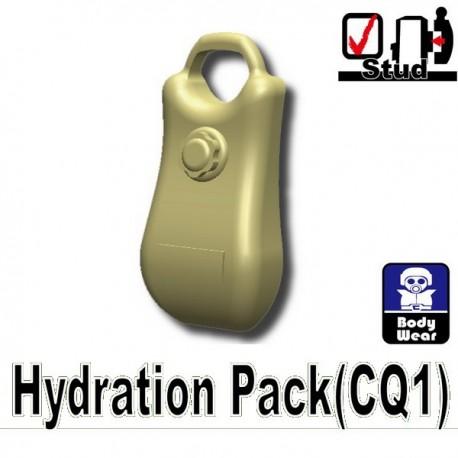 Lego Accessoires Minifig Custom SIDAN TOYS Sac à dos Hydratation (Beige) (La Petite Brique)