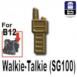 Walkie-Talkie (SG100) (Dark Tan)