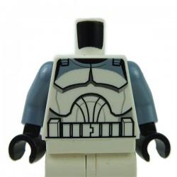 Lego Accessoires Minifig Torse Star Wars Clone Trooper Wolfpack (La Petite Brique)