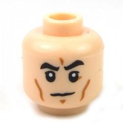 Lego Accessoires Minifig Tête masculine, chair, 48 (La Petite Brique)