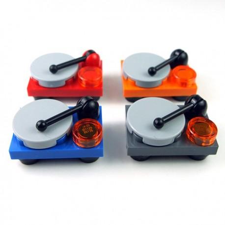 Lego Accessoires Minifig Platine disque vinyle (couleur au choix) (La Petite Brique)