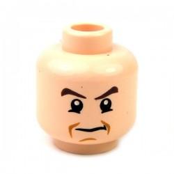 Lego Accessoires Minifig Tête masculine, chair, 49 (La Petite Brique)