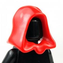 Minifig, Headgear Hood (Red)