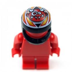 Lego Accessoires Minifig Casque Demon (noir) (La Petite Brique)