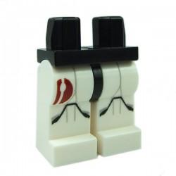 Lego Accessoires Minifig Jambes - Clone Trooper Red Emblem (Star Wars) (La Petite Brique)